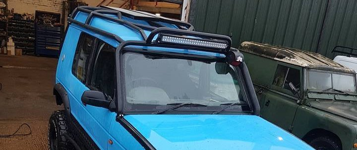 discovery roll cage